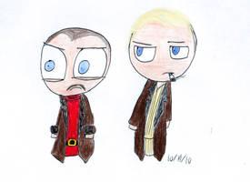 Carl and Gaear by SquirrelyWrath77