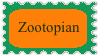 Zootopian Stamp by FriendshipFan1996