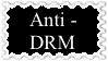 Anti-DRM Stamp by FriendshipFan1996