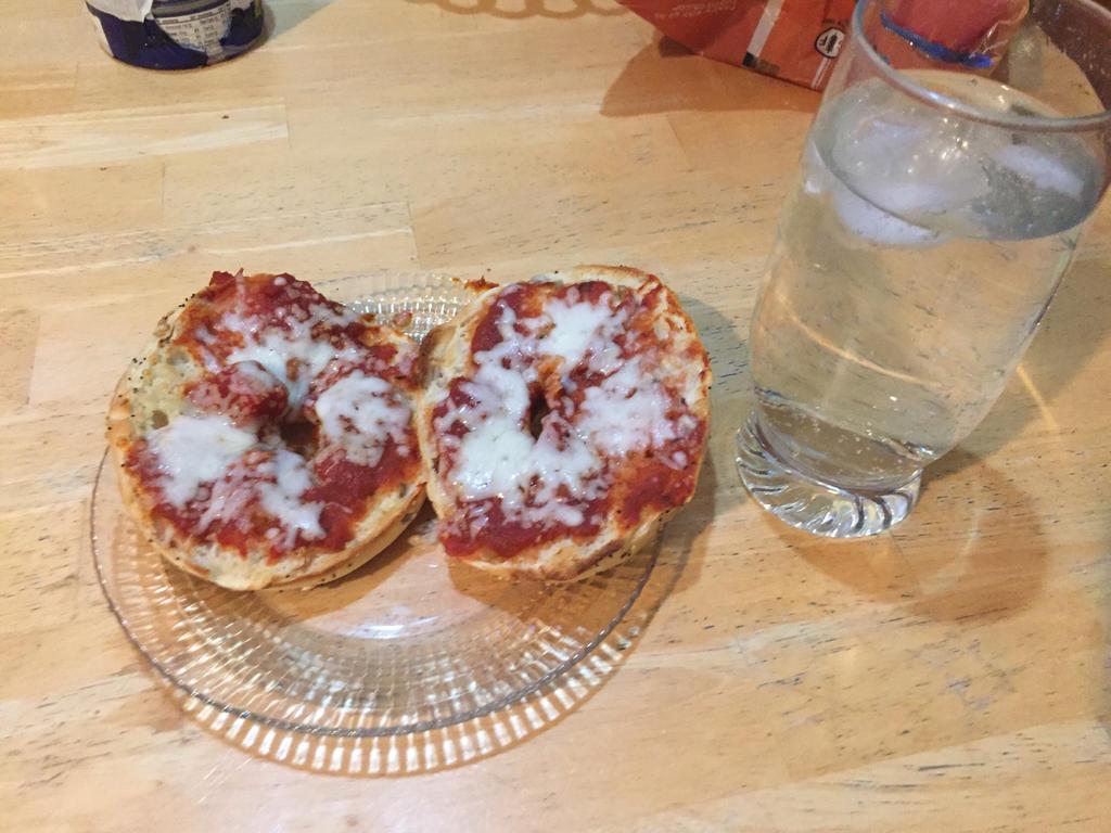 Pizza Bagels by FriendshipFan1996