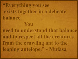 Mufasa Quote Sign