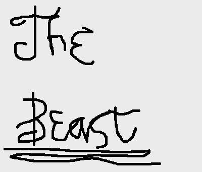 The Beast's Autograph (Fanart)