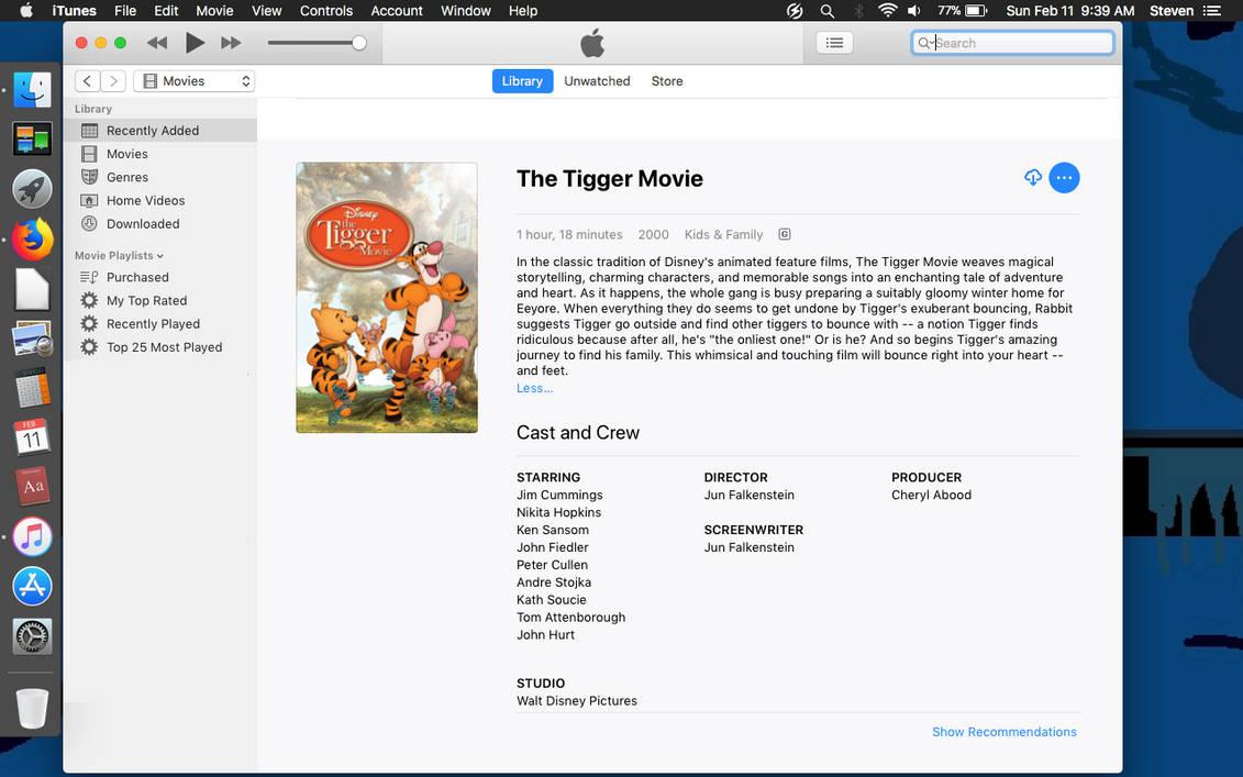 The Tigger Movie (iTunes) by FriendshipFan1996 on DeviantArt