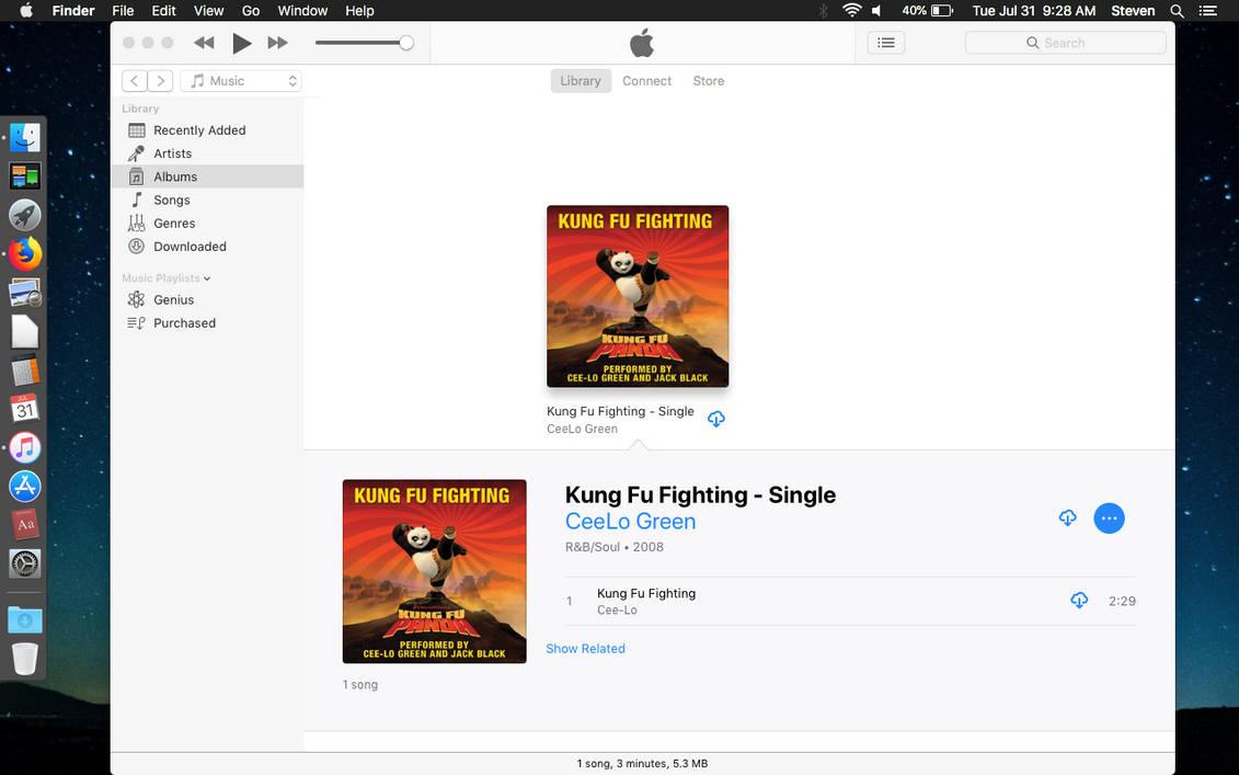 Kung Fu Fighting Song (iTunes) by FriendshipFan1996 on DeviantArt