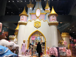 Castle in Manhattan Disney Store