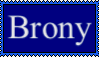 Brony Stamp by FriendshipFan1996