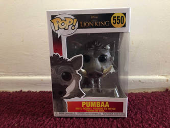 The Lion King Remake Pumbaa Vinyl Figure by FriendshipFan1996