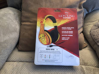 Lion King Headphones (Back) by FriendshipFan1996