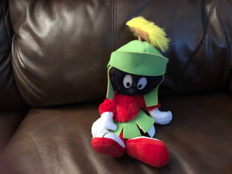 Six Flags Marvin The Martian Plush by FriendshipFan1996