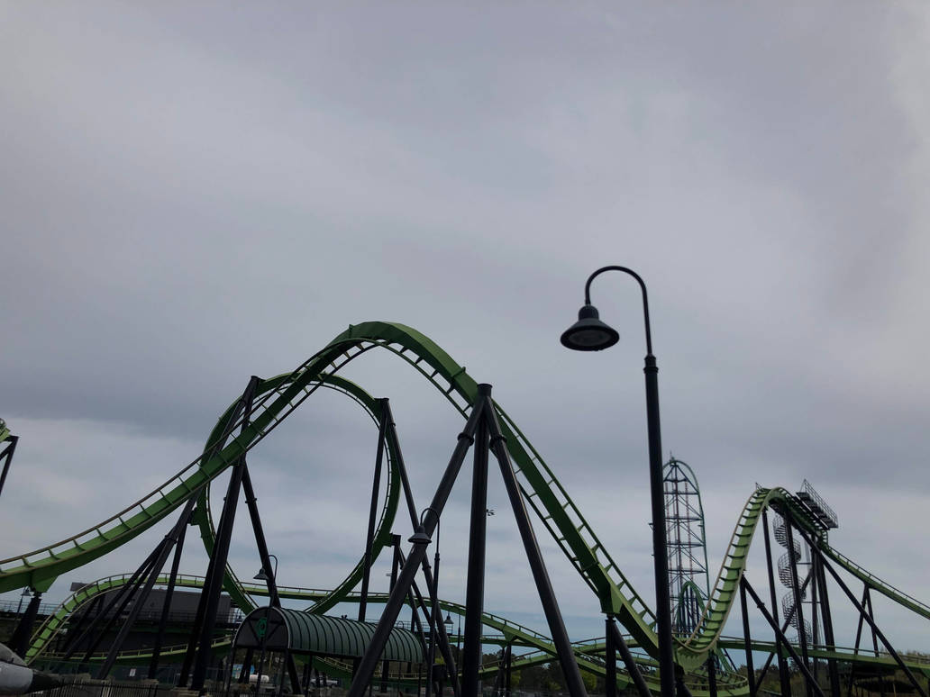 Green Lantern Coaster by FriendshipFan1996