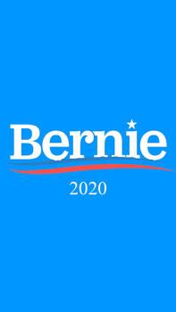 Bernie 2020 Lock Screen Wallpaper