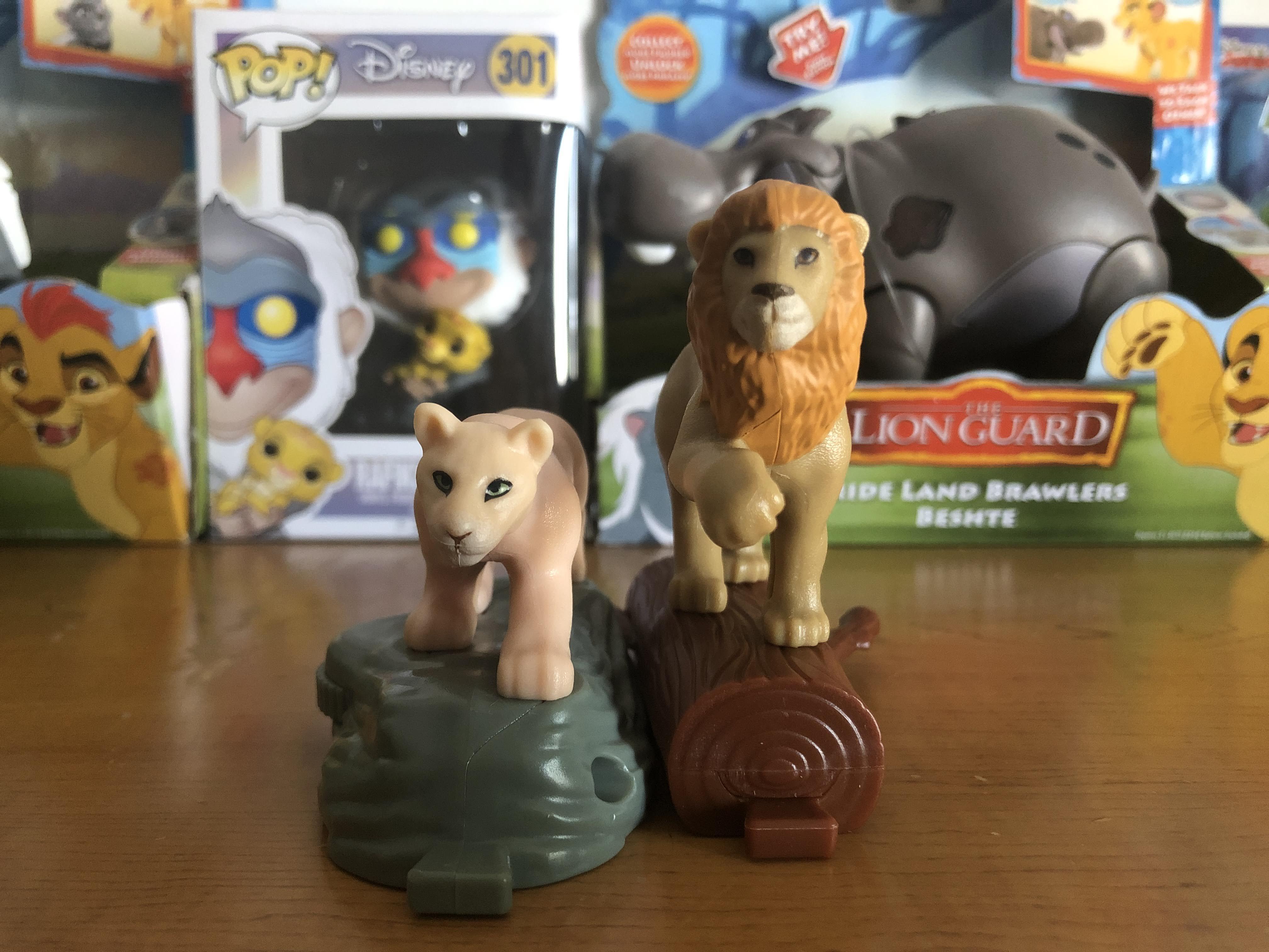 Mcdonalds Lion King 2019 Adult Simba And Nala Toys By