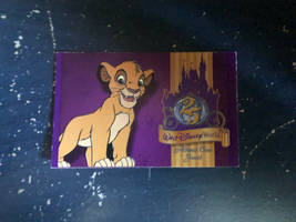 WDW Simba Entrance Ticket