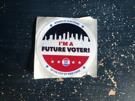 2020 Presidental Primary Voting Sticker