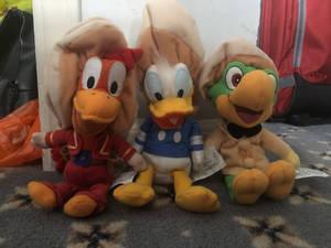 The Three Caballeros Plush