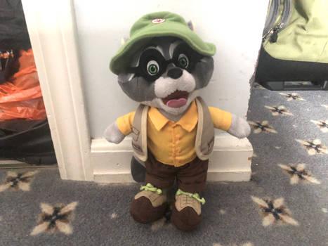 GWL Oliver The Raccoon Plush