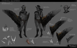 Valkyrie Race - Male Reference