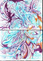 Fractal drawing #2 by fractalarthur
