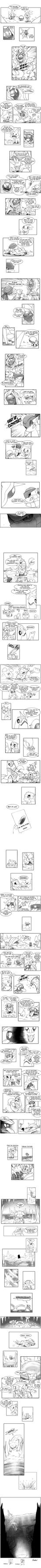 PMD Comic: Blue Rescue Team 4-3 by xofks12