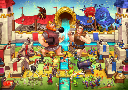 Clash Royale : The royale arena