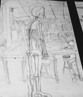Skeletal Figure Art Class. by Miss-Musique