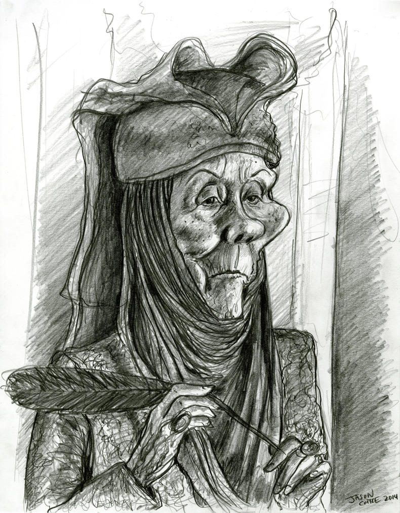 Lady Olenna from Game of Thrones by Caricature80
