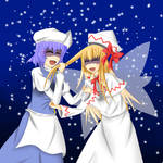 Letty Whiterock and Lily White colored version