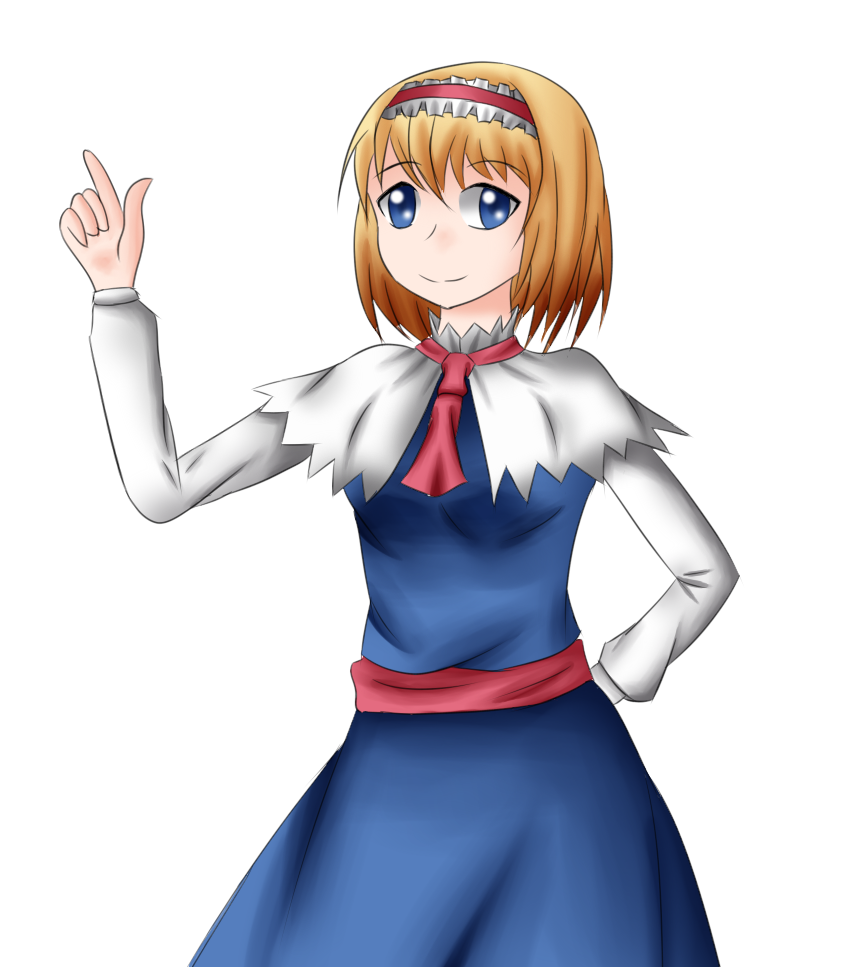 Alice Margatroid by yuritho