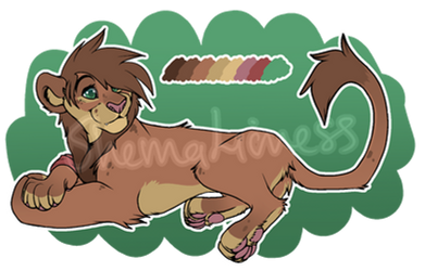Maned Lioness Auction   CLOSED