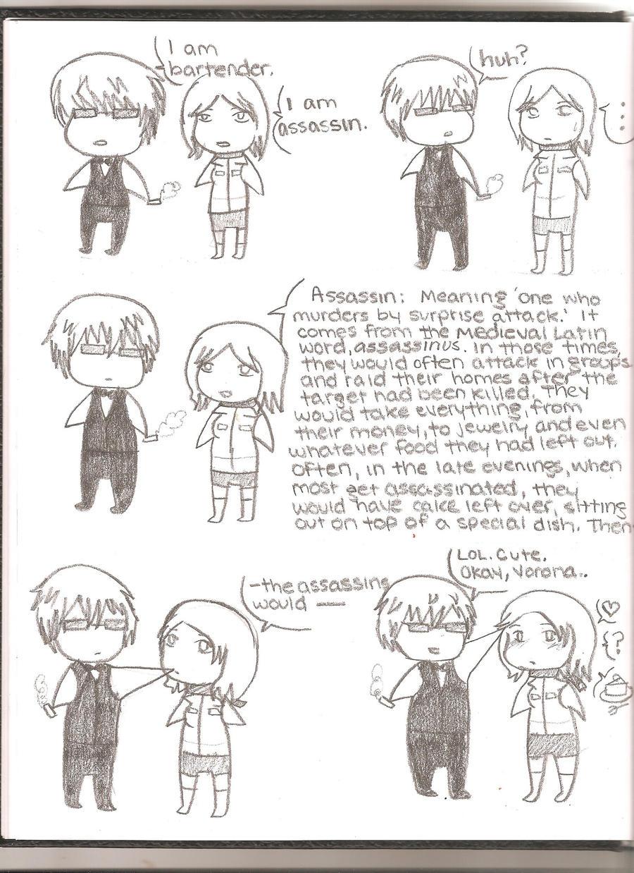 Shizuo and Vorona by randomranma