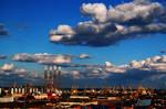 Clouds over Constanta Port