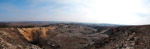 Pano from Sitorman Quarry