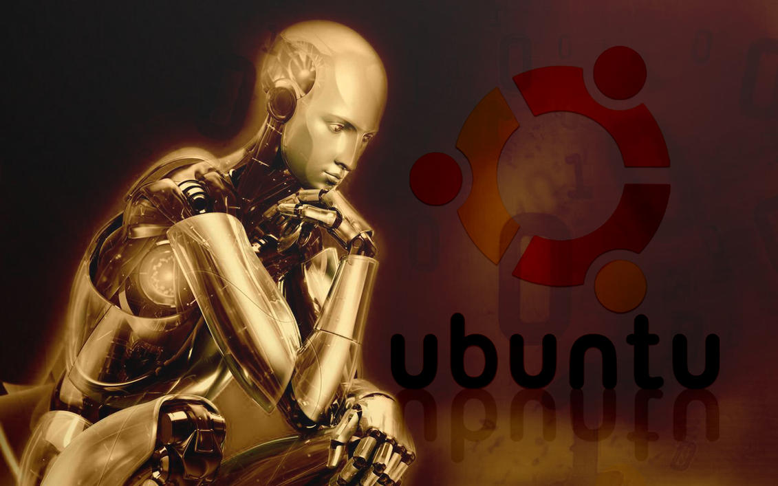 ubuntu-robot by arthursmith