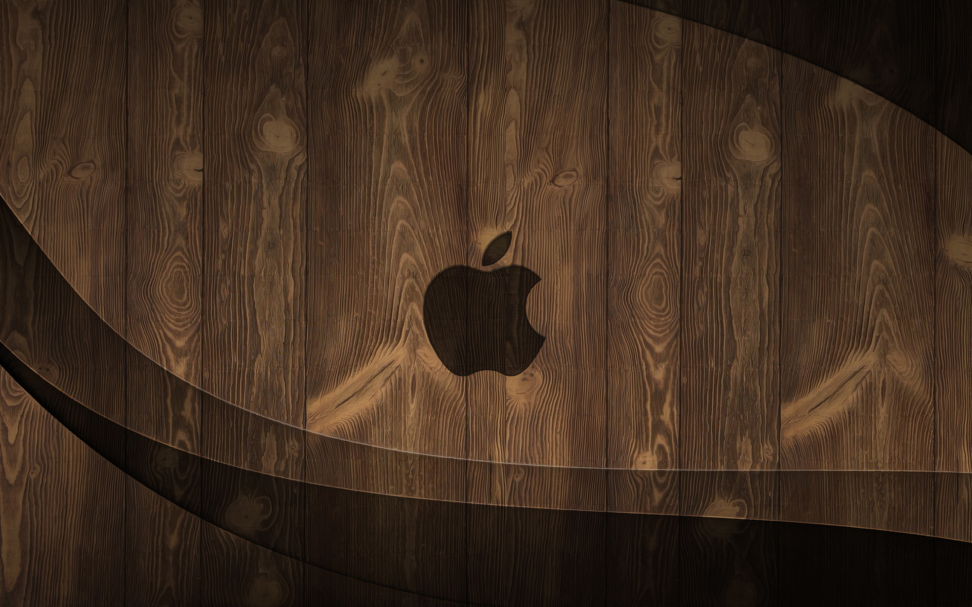 wooden apple by arthursmith
