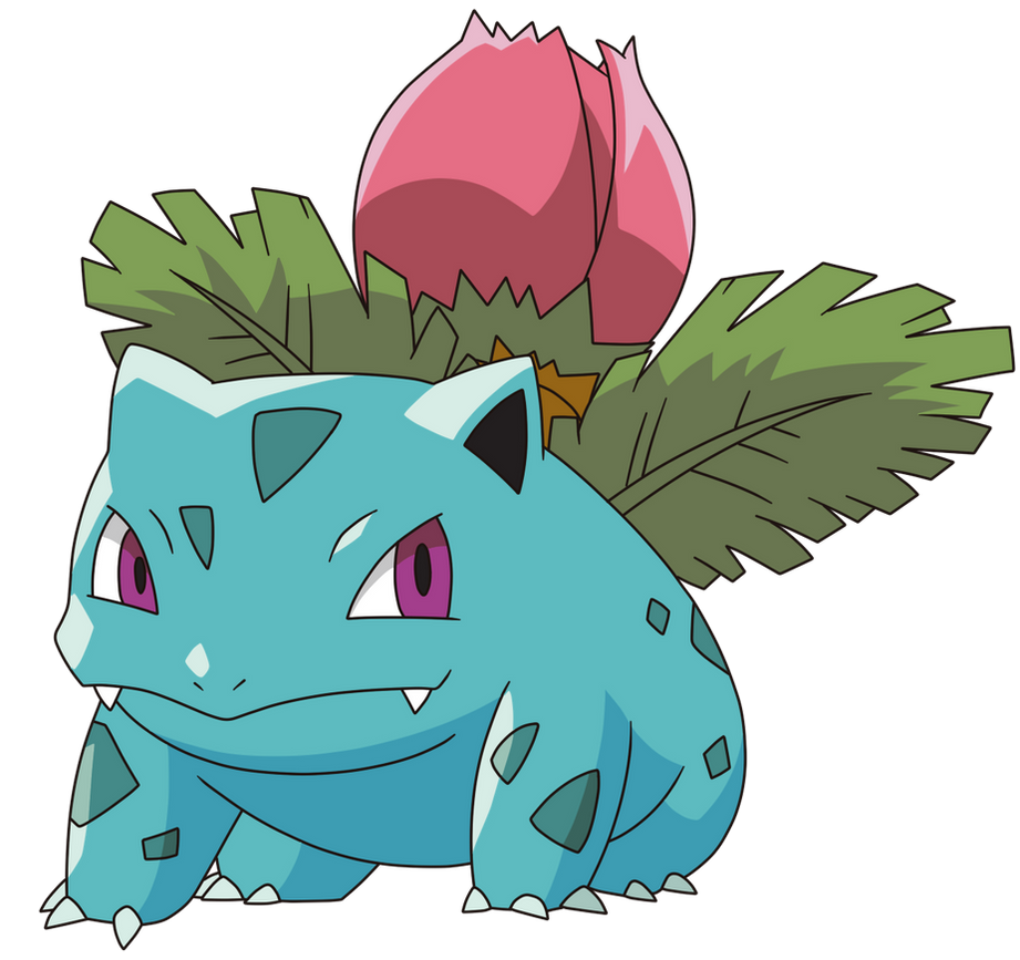 002-Ivysaur By Tzblacktd On DeviantArt