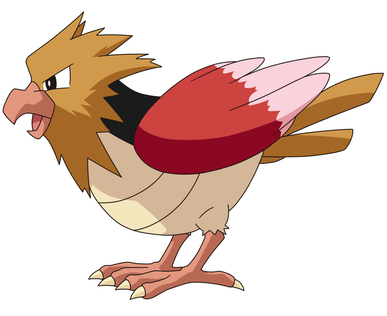 Pokemon 2022 Shiny Fearow Pokedex Evolution Moves