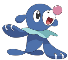 POPPLIO ANIME ARTWORK by Tzblacktd