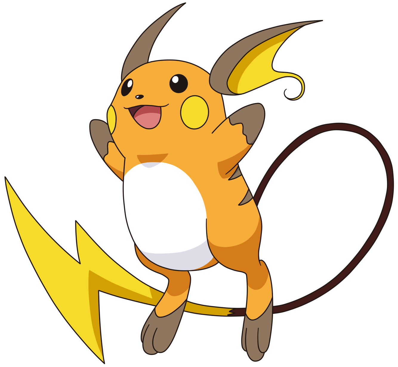 026-Raichu (Male) by Tzblacktd on DeviantArt