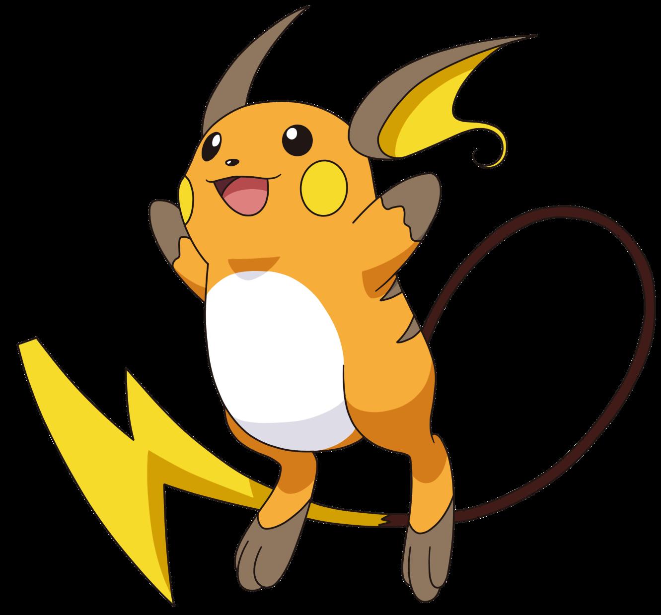 Pokemon Female Raichu Images | Pokemon Images