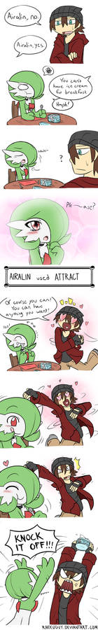 Airalin used Attract