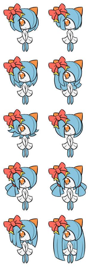 Kirlia Hairstyles