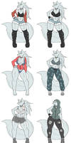 Velvela - Alternate Costumes