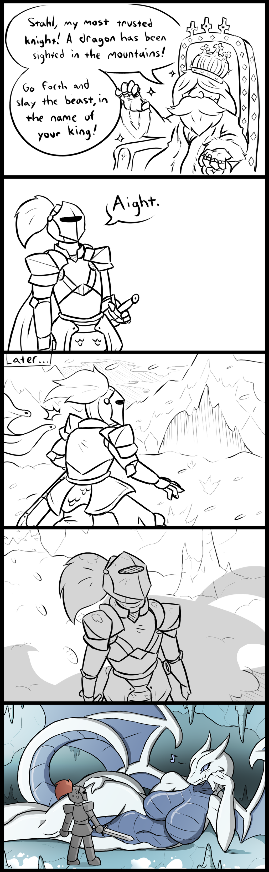 Dragon Slayer - Comic by RakkuGuy