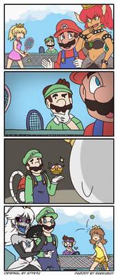 Super Crown Fan Comic