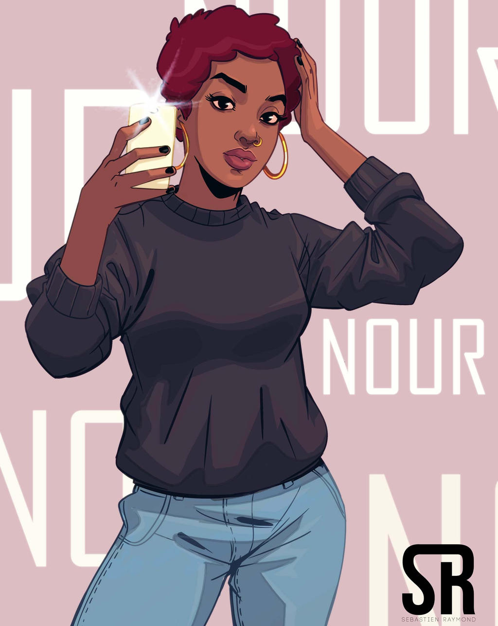 Nour by Messiah972
