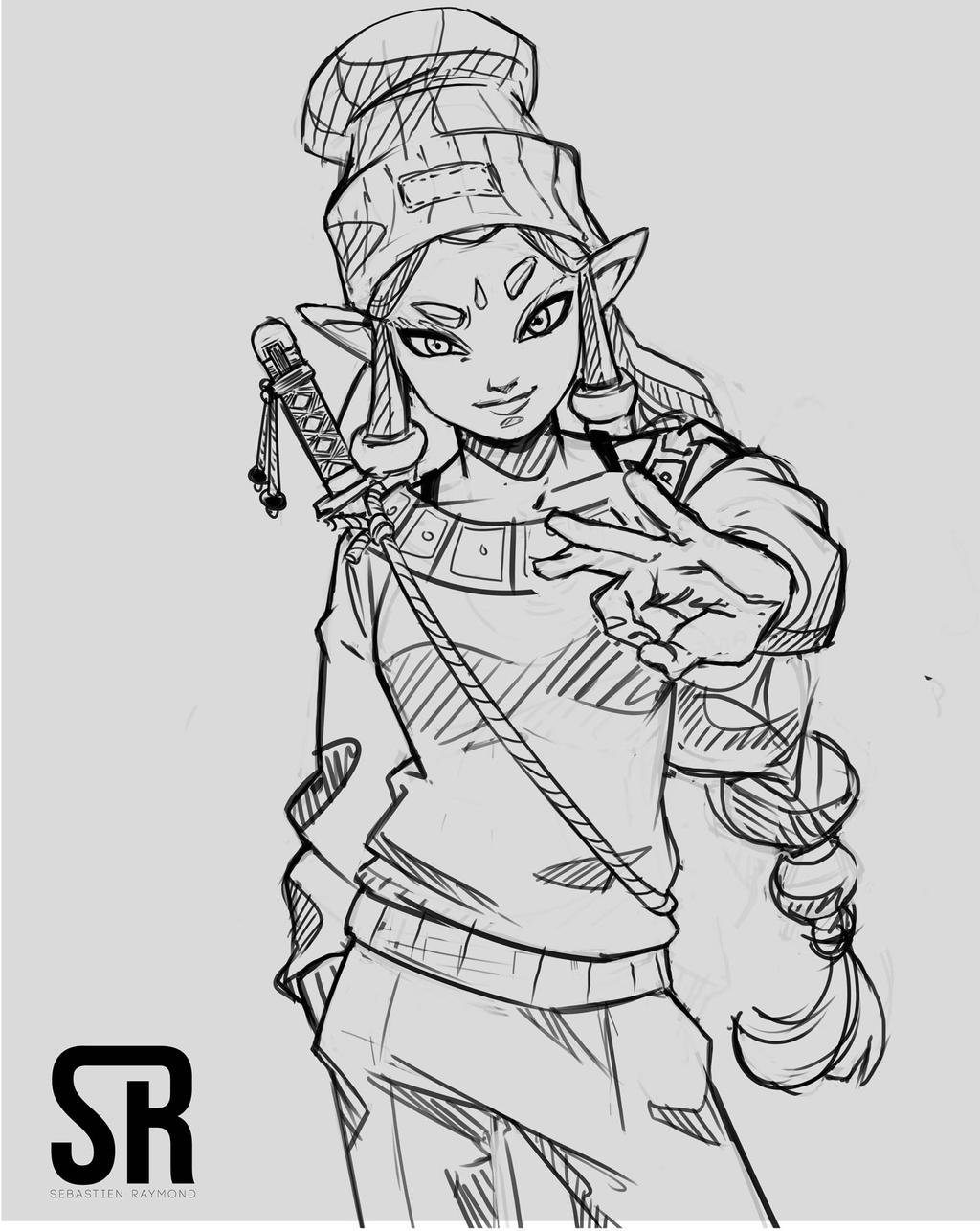 Sketch 02 by Messiah972