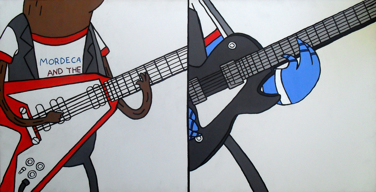 Regular guitars by lifeinacemetery