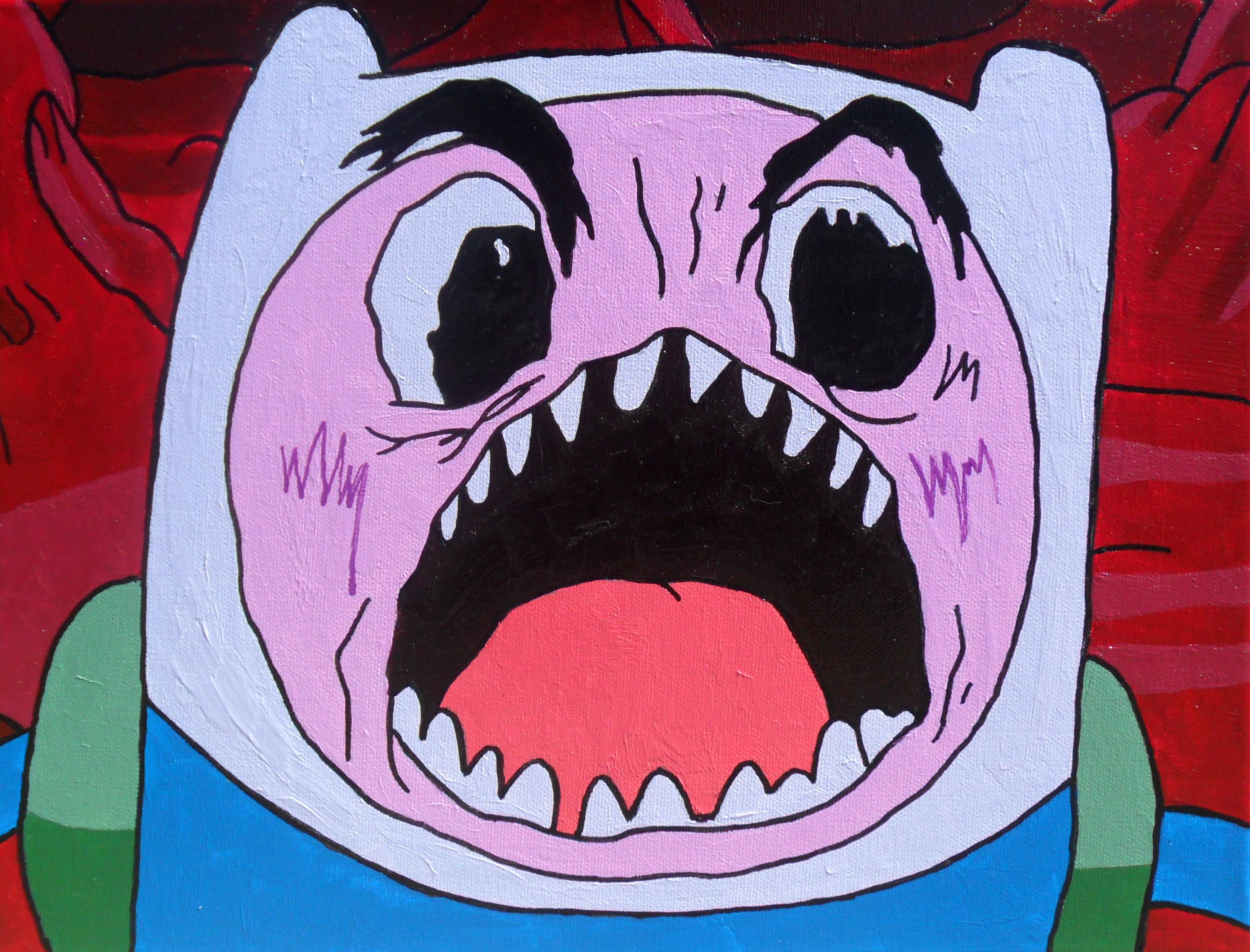 Finn's Scary Face