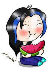 Watermelon by gaminypobre