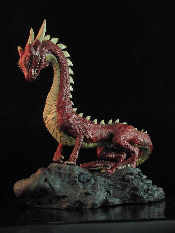 Dragon de tierra rojo by gaminypobre